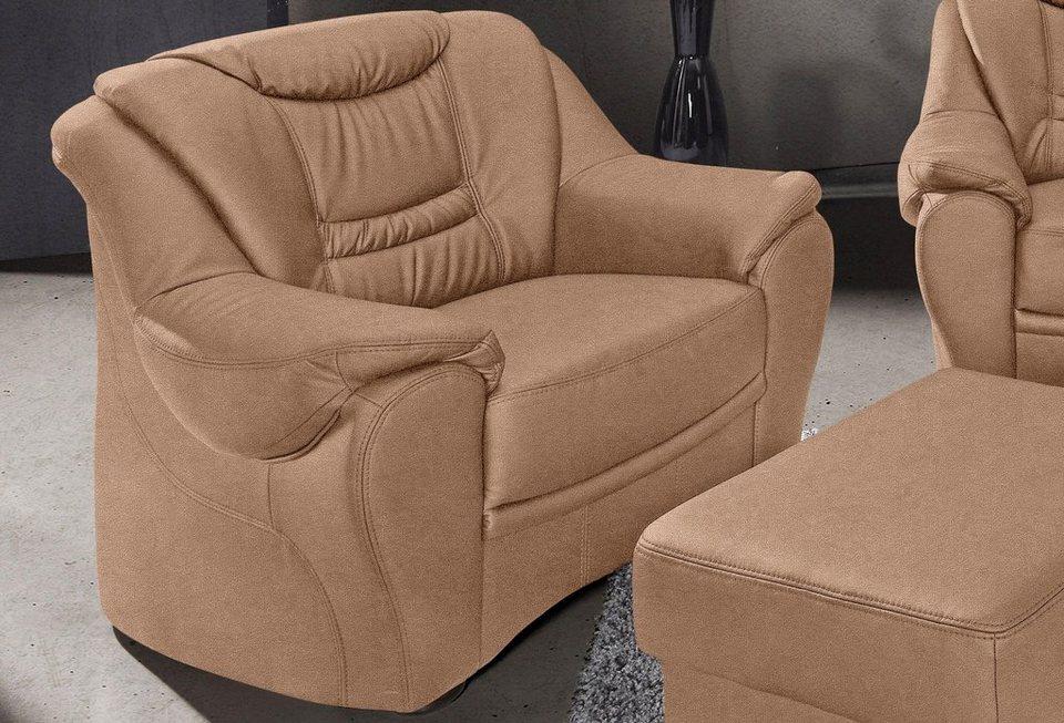 Sessel, Sit & More in braun