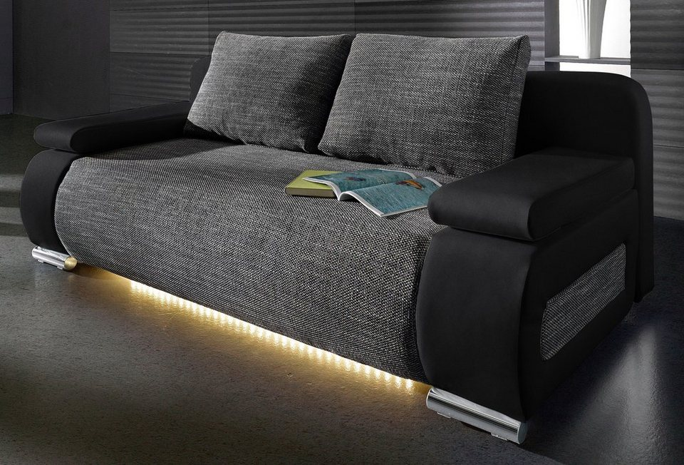 Collection AB Schlafsofa, wahlweise mit LED-Unterbeleuchtung online ...