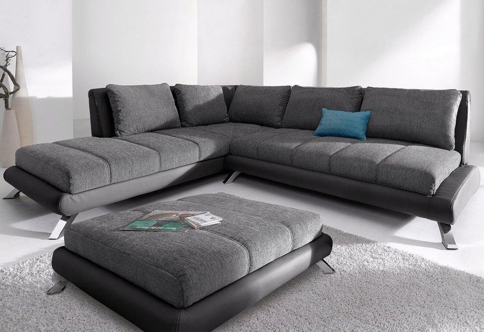 Domo Collection Ecksofa Mit Ottomane Kaufen Otto