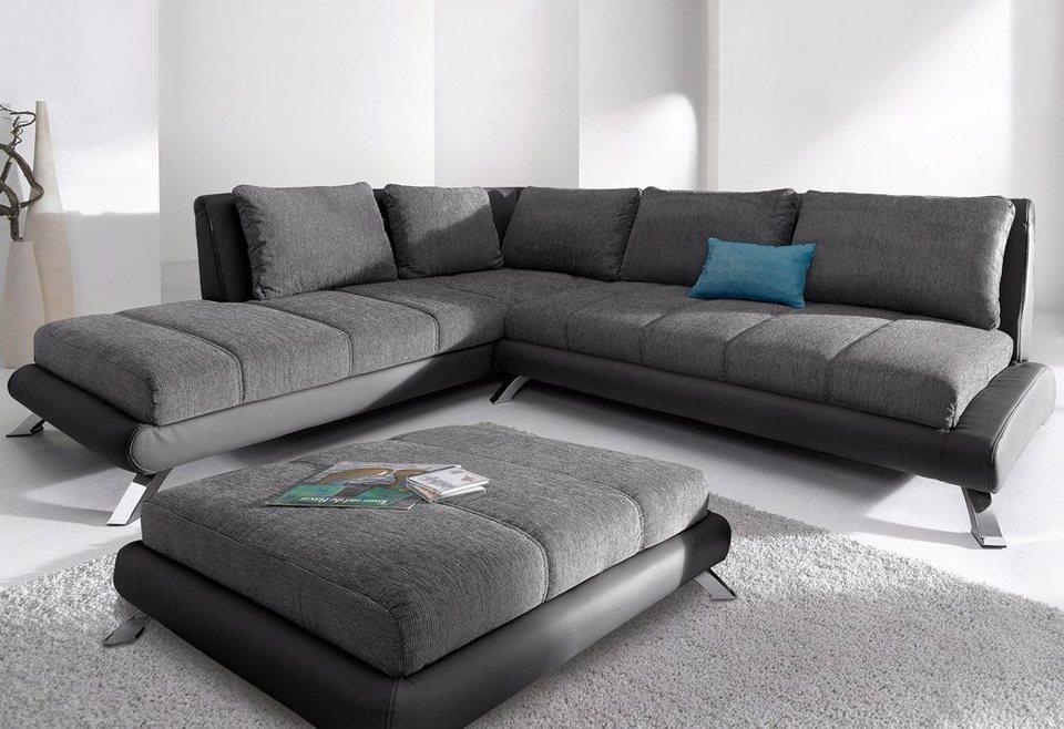polsterecke mit ottomane online kaufen otto. Black Bedroom Furniture Sets. Home Design Ideas
