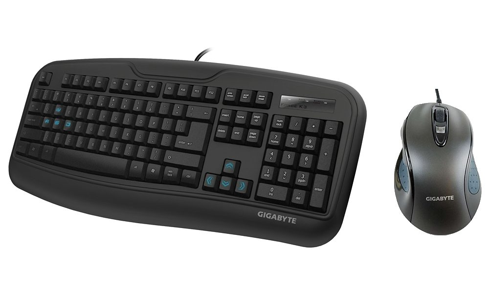 GIGABYTE Set aus Maus + Tastatur »Force K3 Gaming Upgrade Kit«