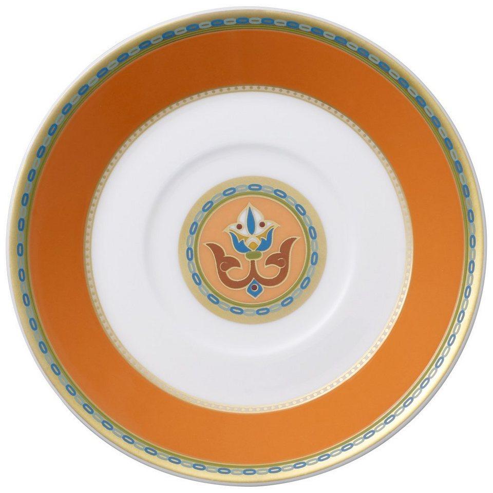 VILLEROY & BOCH Mokka-/Espressountertasse »Samarkand Mandarin« in Dekoriert