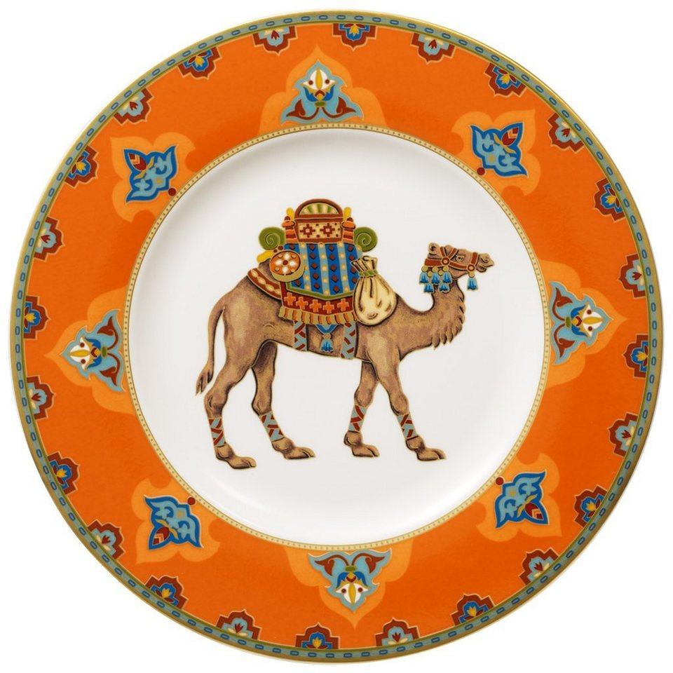 VILLEROY & BOCH Frühstücksteller »Samarkand Mandarin« in Dekoriert