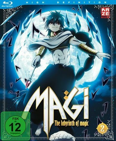 Blu-ray »Magi: The Labyrinth of Magic, Box 2«