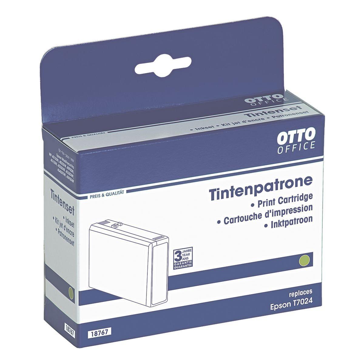 OTTO Office Standard Tintenpatrone ersetzt Epson »T0724«