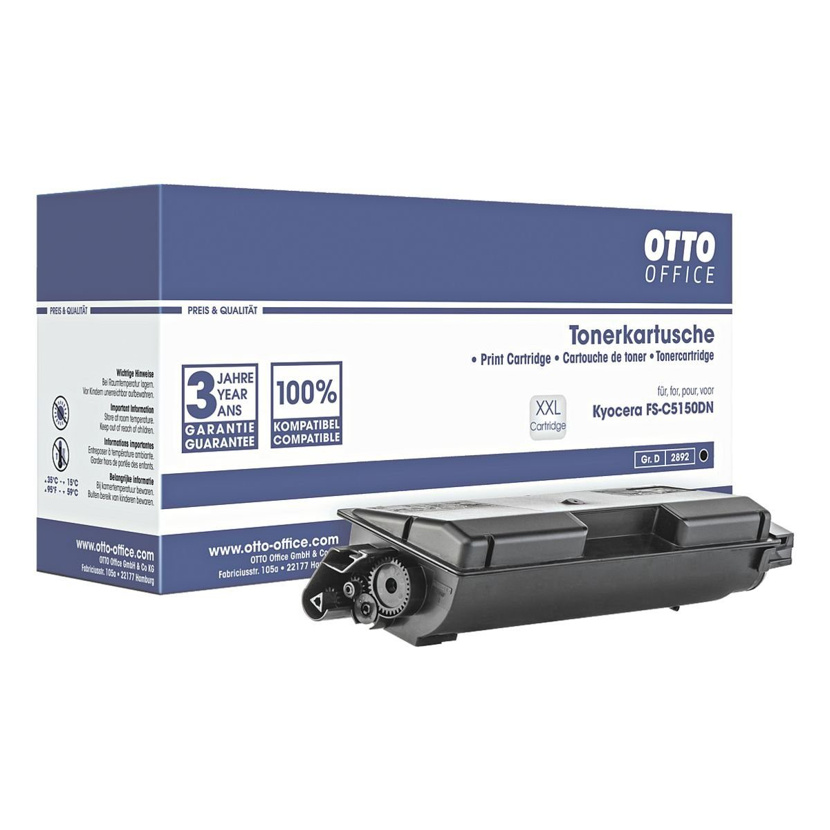 OTTO Office Standard Tonerpatrone ersetzt Kyocera »TK-580K«