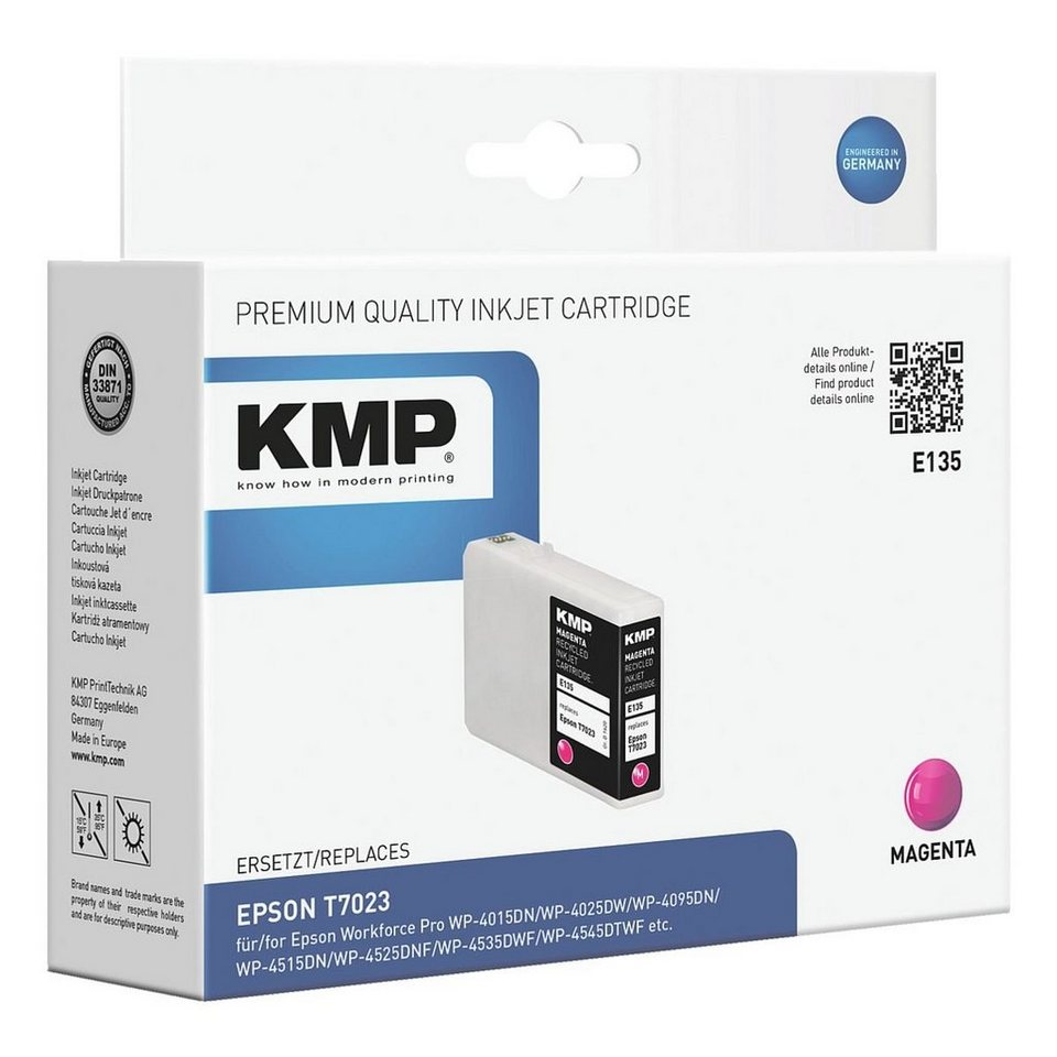 KMP Tintenpatrone ersetzt Epson »T0723«