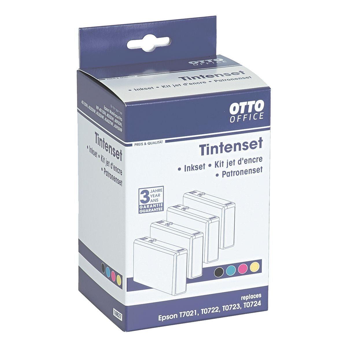 OTTO Office Standard Tintenpatronen-Set ersetzt Epson »T702-Set«