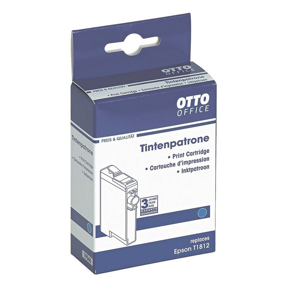 OTTO Office Standard Tintenpatrone ersetzt Epson »T1812XL«