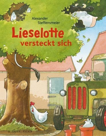 Gebundenes Buch »Lieselotte versteckt sich«