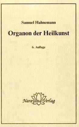 Gebundenes Buch »Organon der Heilkunst«