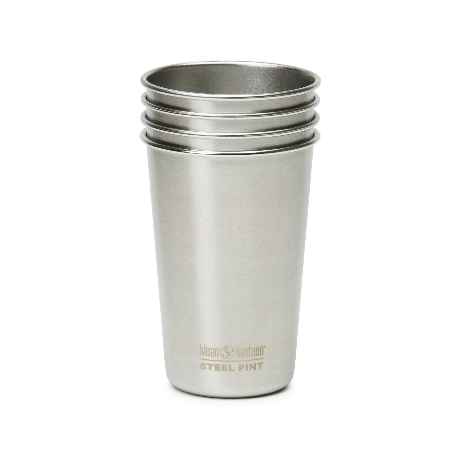 Klean Kanteen Trinkflasche »Pint Cup 473ml 4er Pack«