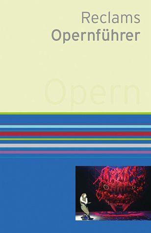 Buch mit Leinen-Einband »Reclams Opernführer«