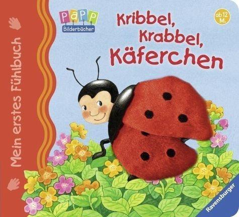 Buch mit Papp-Einband »Mein erstes Fühlbuch: Kribbel, krabbel, Käferchen«