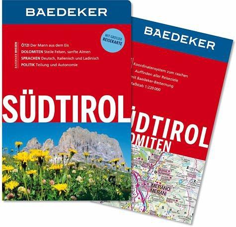 Broschiertes Buch »Baedeker Reiseführer Südtirol«