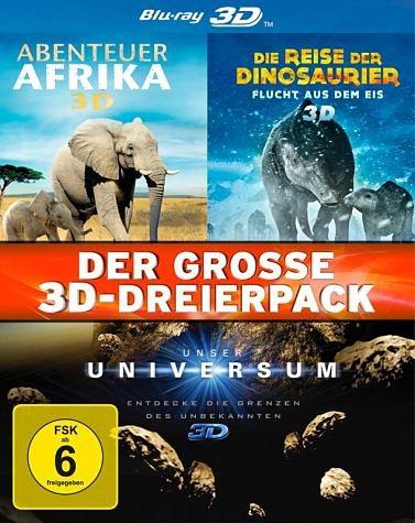 Blu-ray »Der große 3D-Dreierpack (3 Discs)«