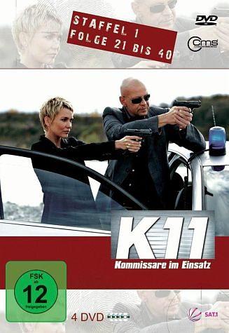 DVD »K 11 - Kommissare im Einsatz, Staffel 1, Folge...«