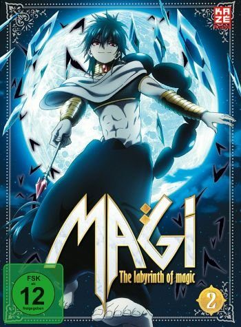 DVD »Magi: The Labyrinth of Magic, Box 2 (2 Discs)«