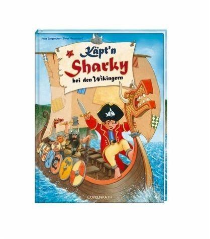 Gebundenes Buch »Käpt'n Sharky bei den Wikingern / Käpt'n...«