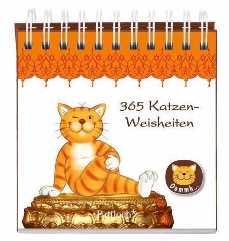 Broschiertes Buch »365 Katzenweisheiten«