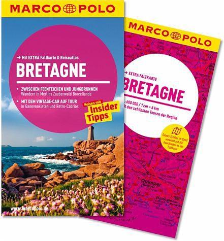 Broschiertes Buch »MARCO POLO Reiseführer Bretagne«