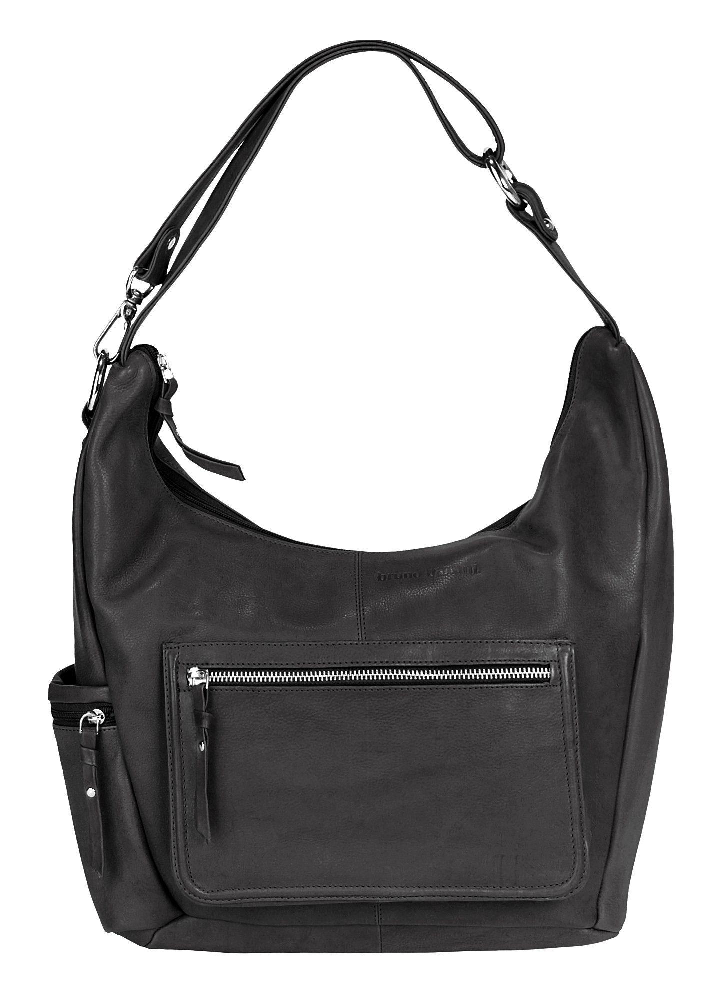 BRUNO BANANI Leder Damen Handtasche »Motion«