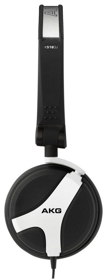 AKG Mini DJ Kopfhörer »K 518 DJ Weiß«