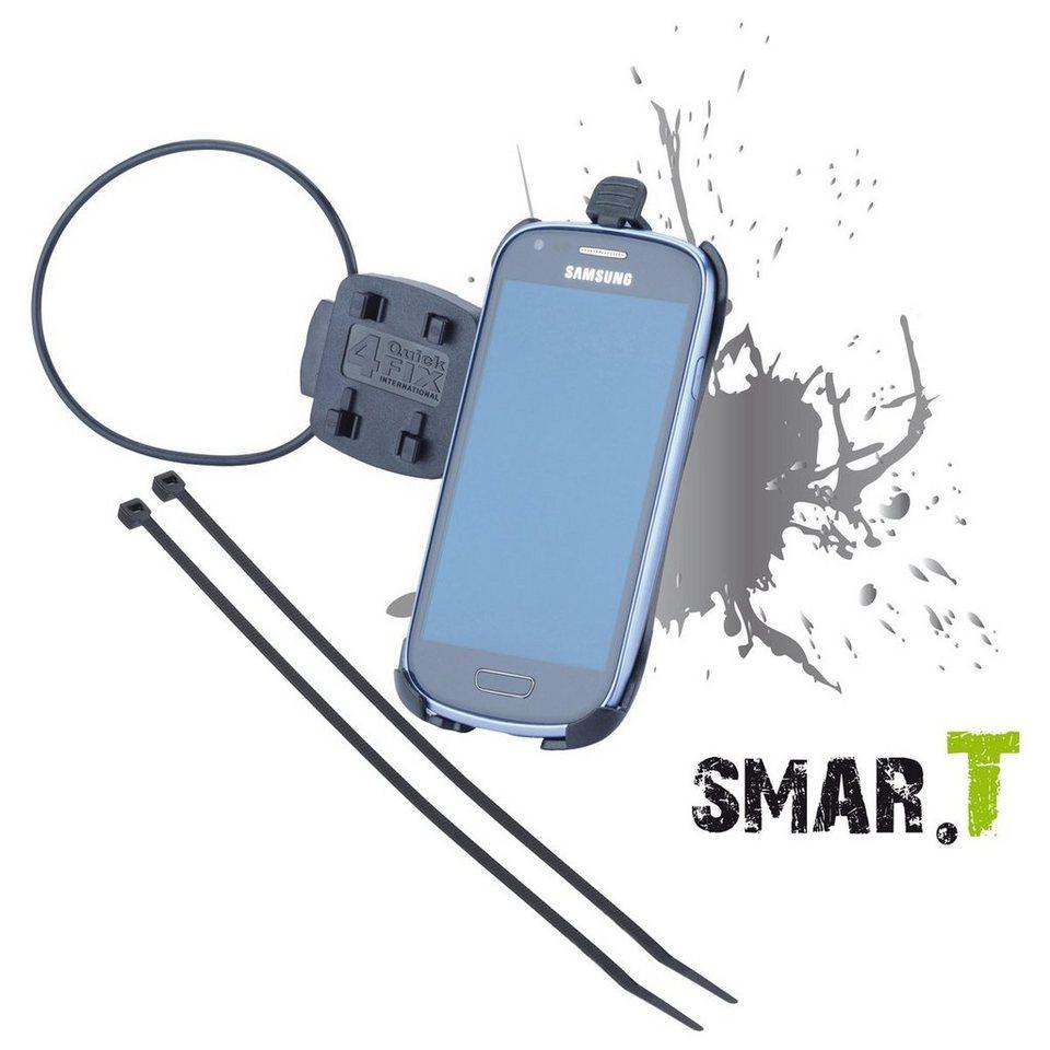 SMAR.T Fahrradhalterung »phone für Samsung Galaxy SIII mini« in Schwarz