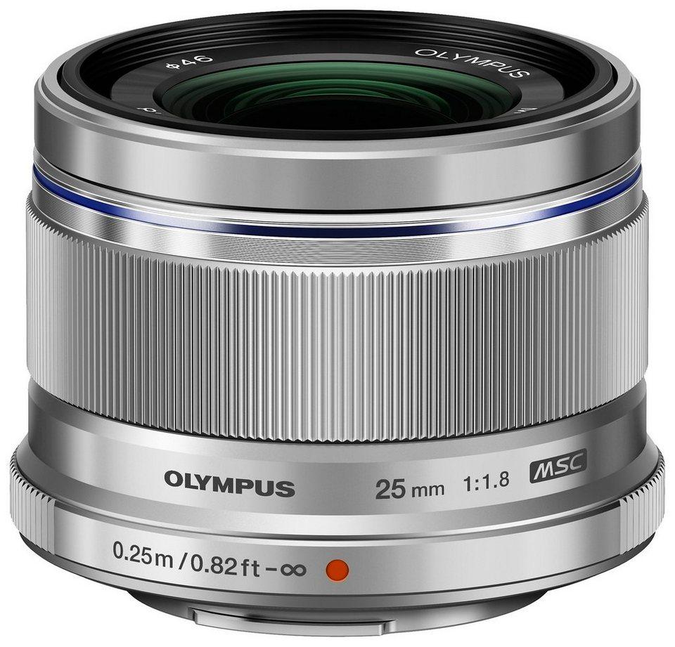 Olympus PEN EZ-M2518 Objektiv in Silberfarben