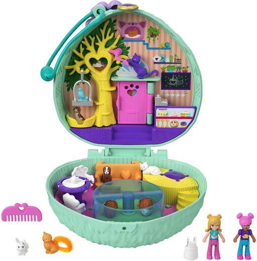 Mattel® Spielwelt »Polly Pocket Igel-Café Schatulle«, Sammelfigur