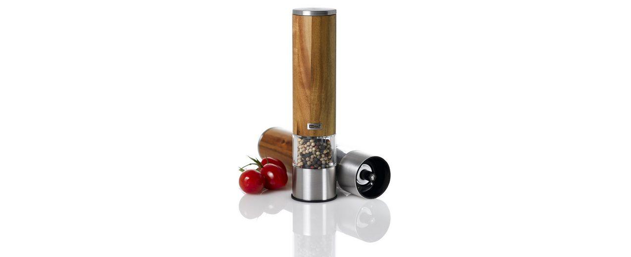 AdHoc Elektrische Salz- oder Pfeffermühle »Woodmatic«