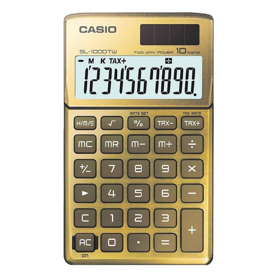 CASIO Taschenrechner »SL-1000TW« in gold