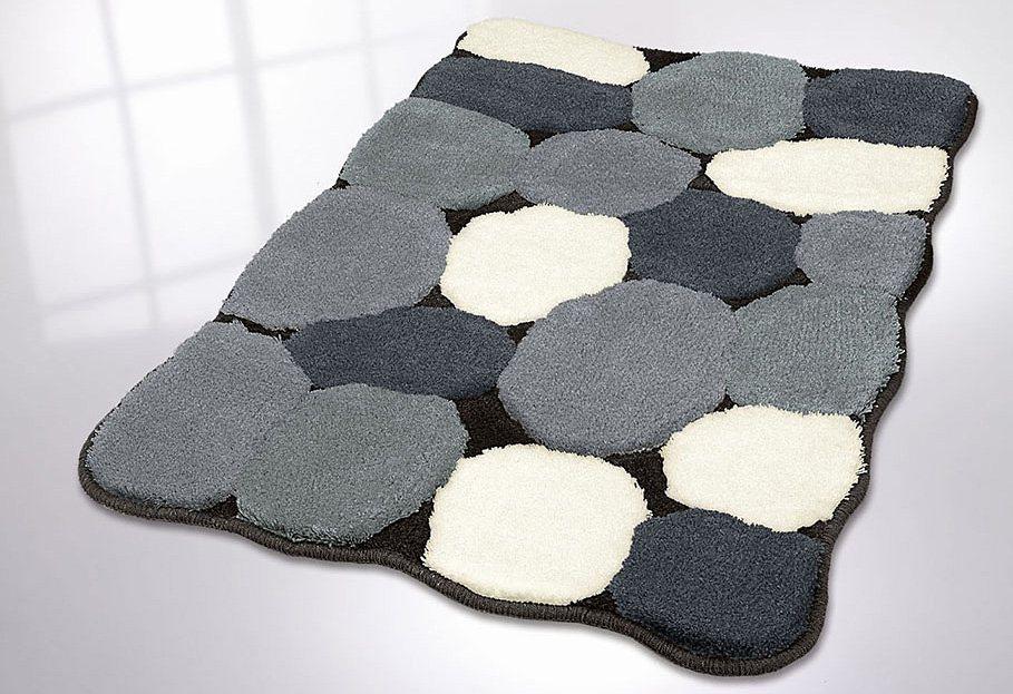 Badematte Stone. Best Felt Stone Rug Wool Super Soft D Shades Of ...