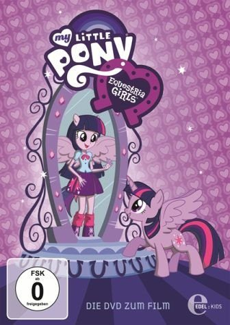 DVD »My Little Pony: Equestria Girls«