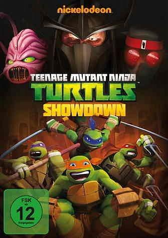 DVD »Teenage Mutant Ninja Turtles - Showdown«
