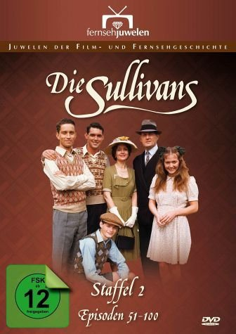 DVD »The Sullivans - Staffel 2, Episoden 51 -100 (7...«