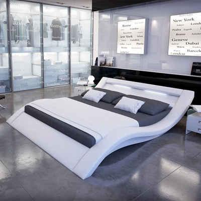 Designer bett led  Kunstlederbett online kaufen » mit & ohne Bettkasten | OTTO