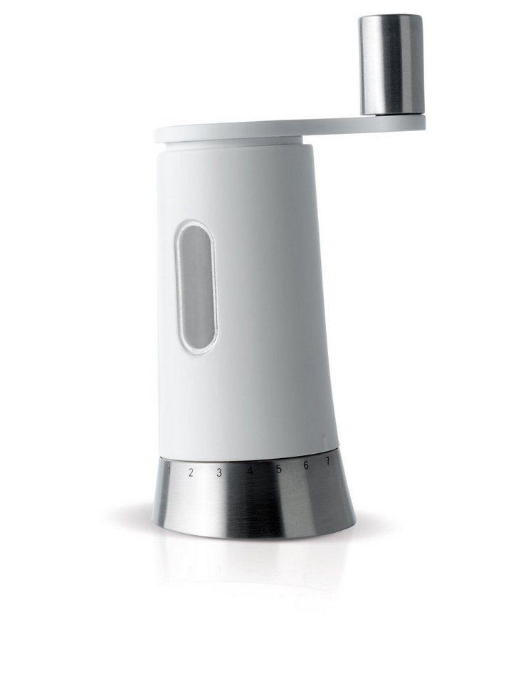 AdHoc Kurbelmühle für Salz und Pfeffer »Pepisa« in Weiß