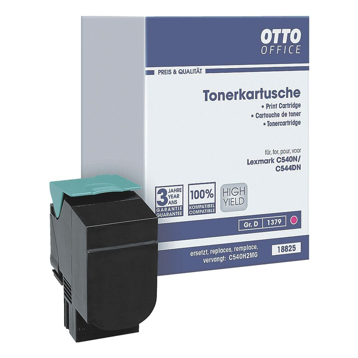 OTTO Office Tonerpatrone ersetzt Lexmark »C540H2MG«