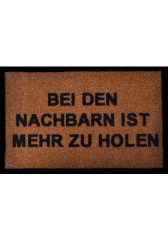 HANSE HOME Durų kilimėlis »Nachbarn« rechteckig a...