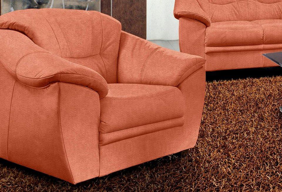 Sit&More Sessel in terrakotta