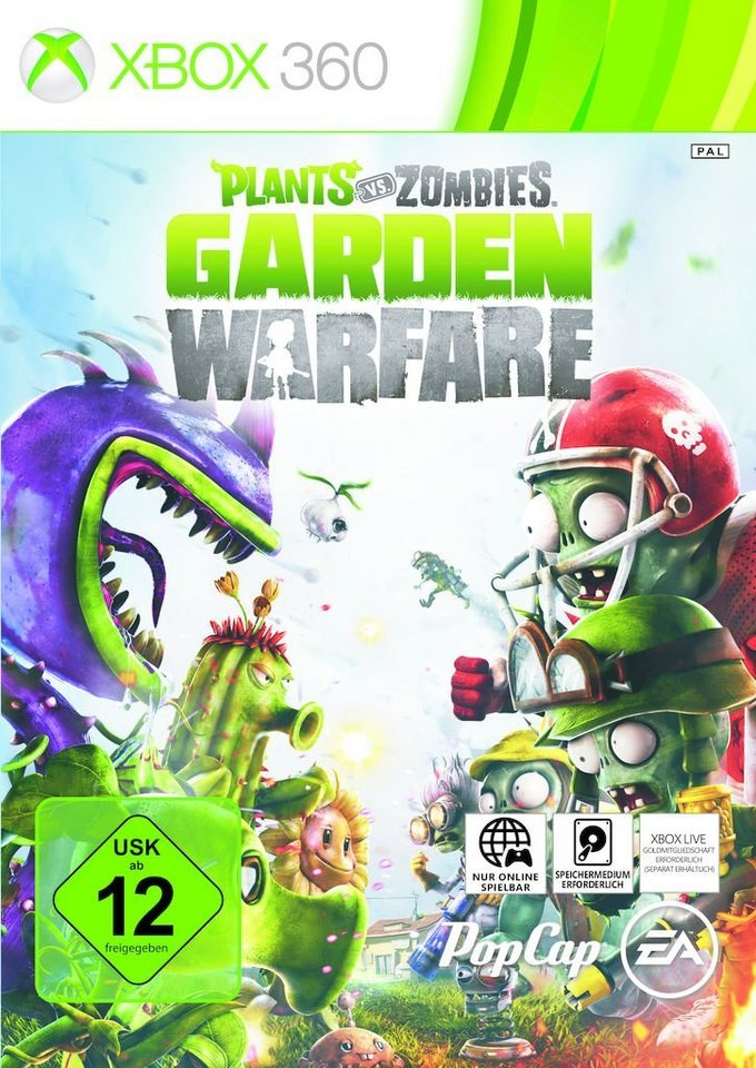 Electronic Arts XBOX 360 - Spiel »Plants vs Zombies Garden Warfare«