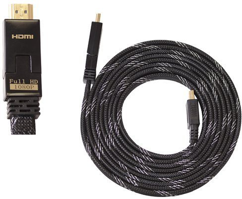 BIGBEN HDMI-Kabel 1.4 / 3D Flachkabel 3m »(XBox One X360 PS3 PS4 WiiU)«