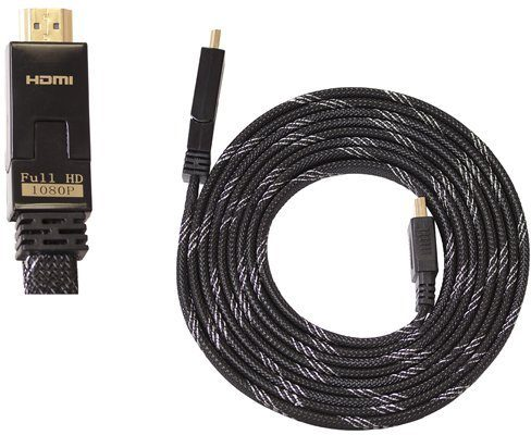 BIGBEN HDMI-Kabel 1.4 / 3D Flachkabel 3m »XBox One X360 PS3 PS4 WiiU«