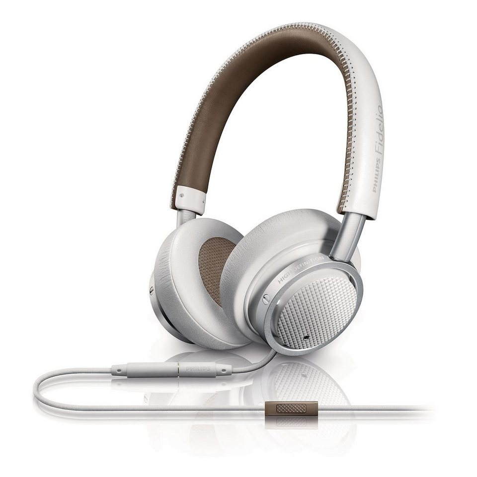 Philips Fidelio Bluetooth Headset »M1/00 weiss«