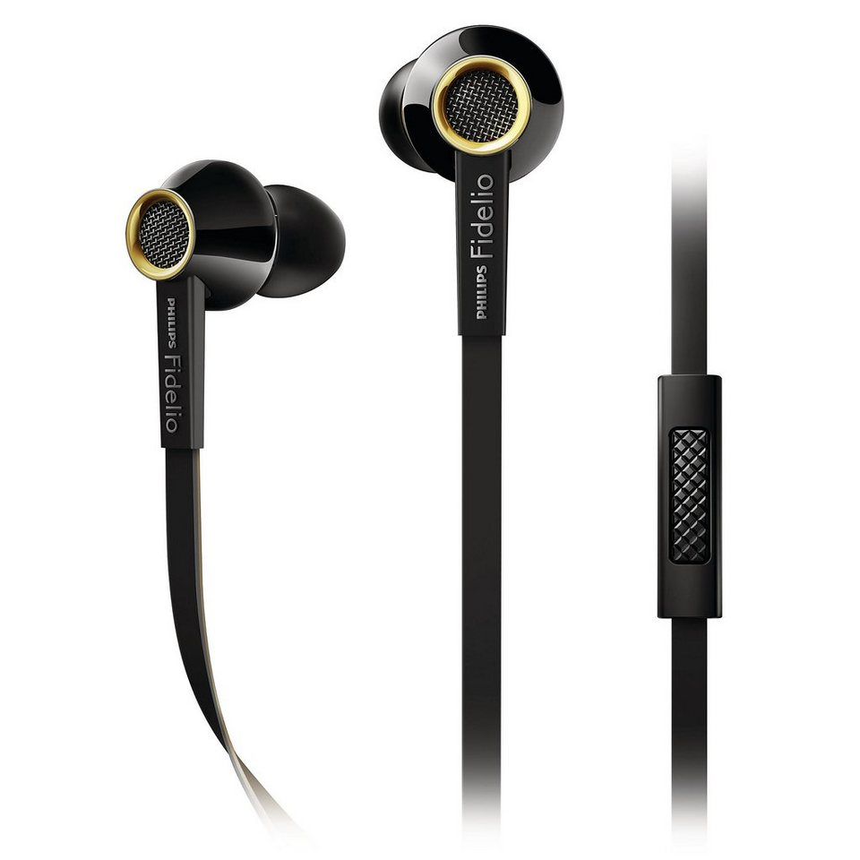 Philips Fidelio In Ear Headset »S2/00 schwarz«