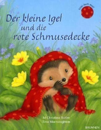 Gebundenes Buch »Der kleine Igel und die rote Schmusedecke«