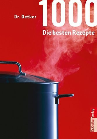 Gebundenes Buch »1000 die besten Rezepte«