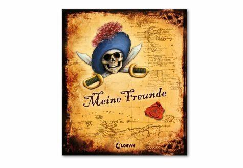 Gebundenes Buch »Meine Freunde (Pirat)«