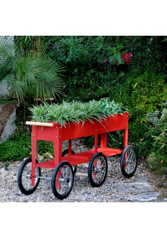 Herstera Garden Paaukštinta lysvė »Wheels« BxTxH: 150x...